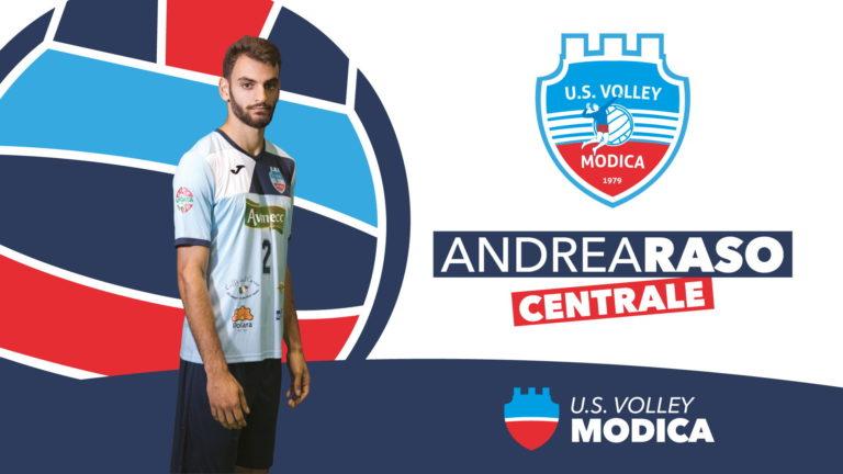 La U.S Volley Modica riconferma il centrale Andrea Raso