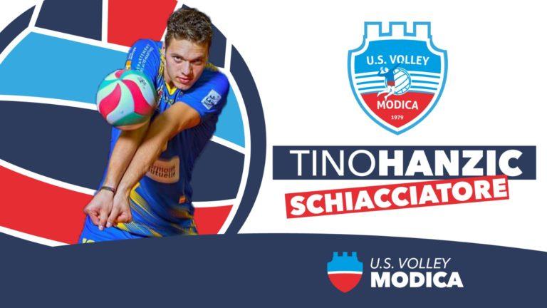 L'Avimecc Volley Modica è fiera di annunciare il suo nuovo schiacciatore Tino Hanzic