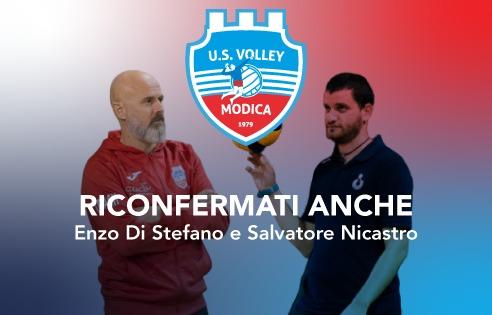 Volley Modica, nello staff confermati anche Nicastro e Di Stefano
