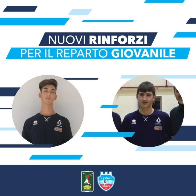 Volley Modica, nuovi rinforzi per il reparto giovanile