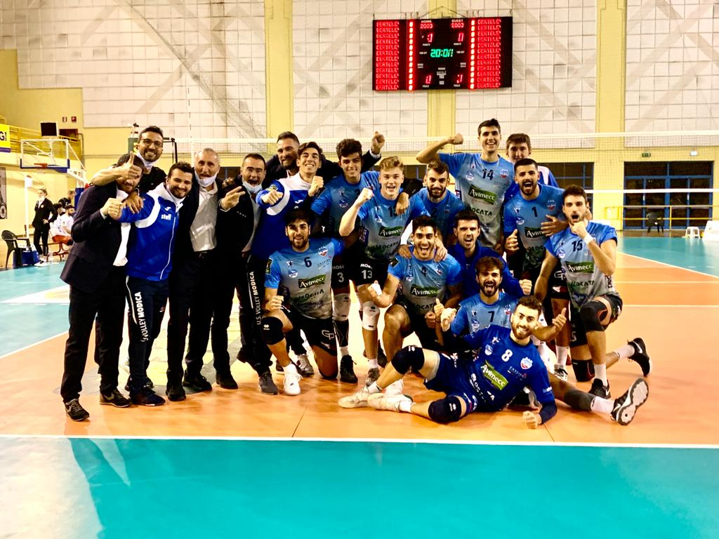 Avimecc Volley Modica, arriva la vittoria alla prima al Palarizza