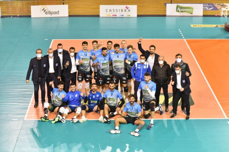 Avimecc Volley Modica, vittoria sofferta e importante contro Normanna Aversa Academy