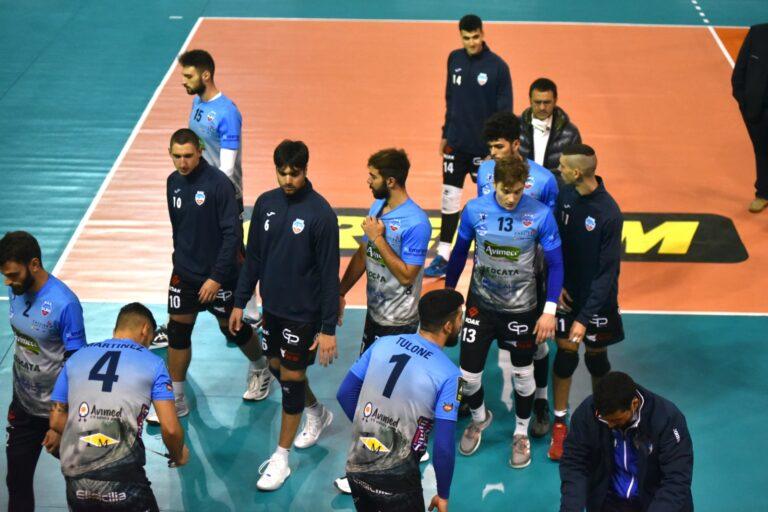 Avimecc Volley Modica, usciti a testa bassa dal Palarizza dopo la sconfitta contro Abba Pineto