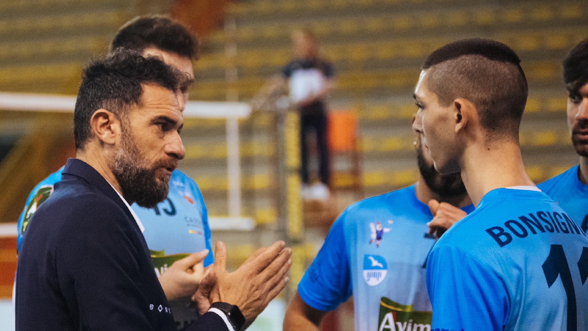 """Avimecc Volley Modica, Bua: """"Felice dell'impegno e della voglia dimostrata dai ragazzi"""""""